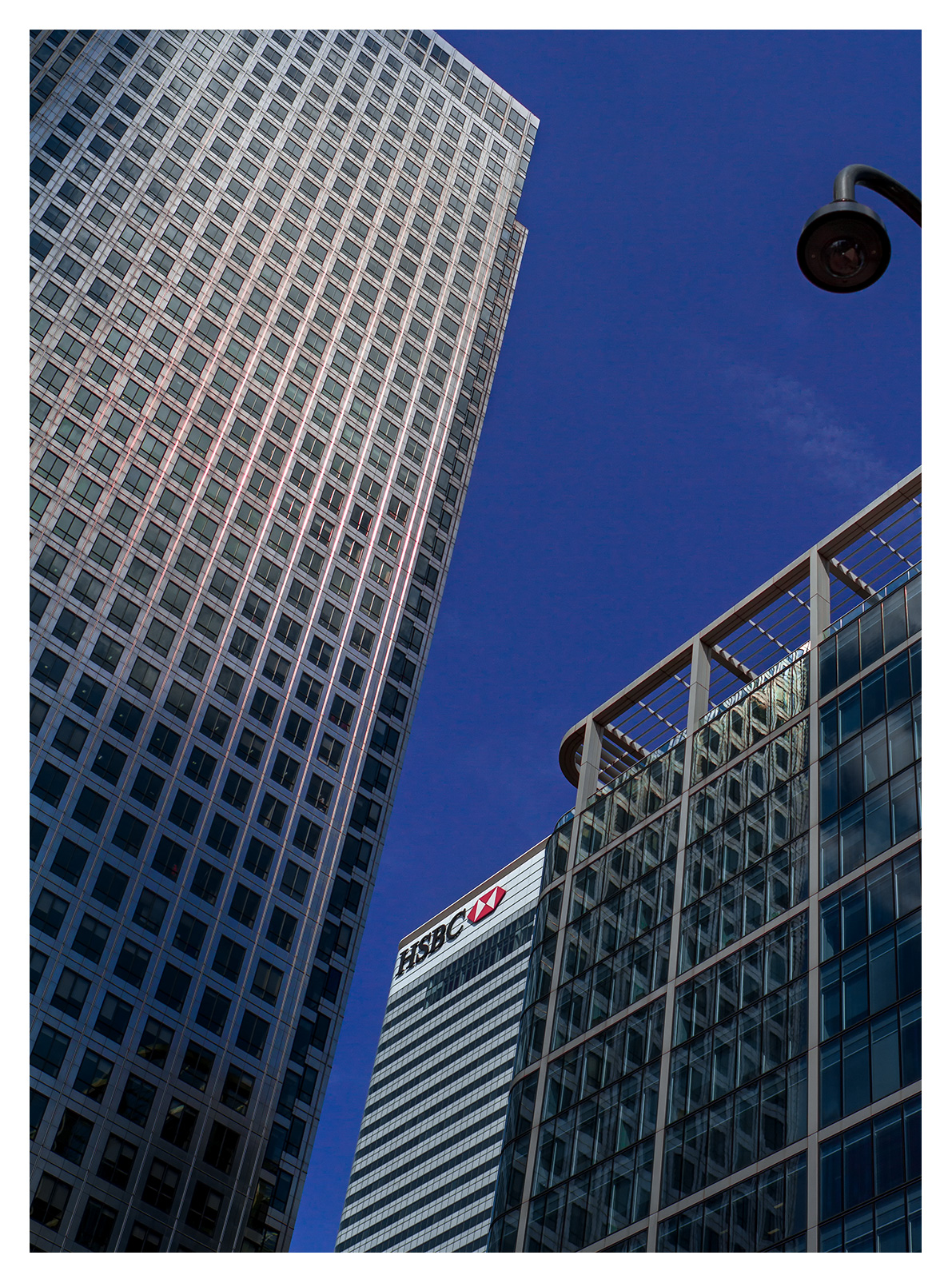 London Architecture, HSBC Bank, Canada Square, Canary Wharf, London.