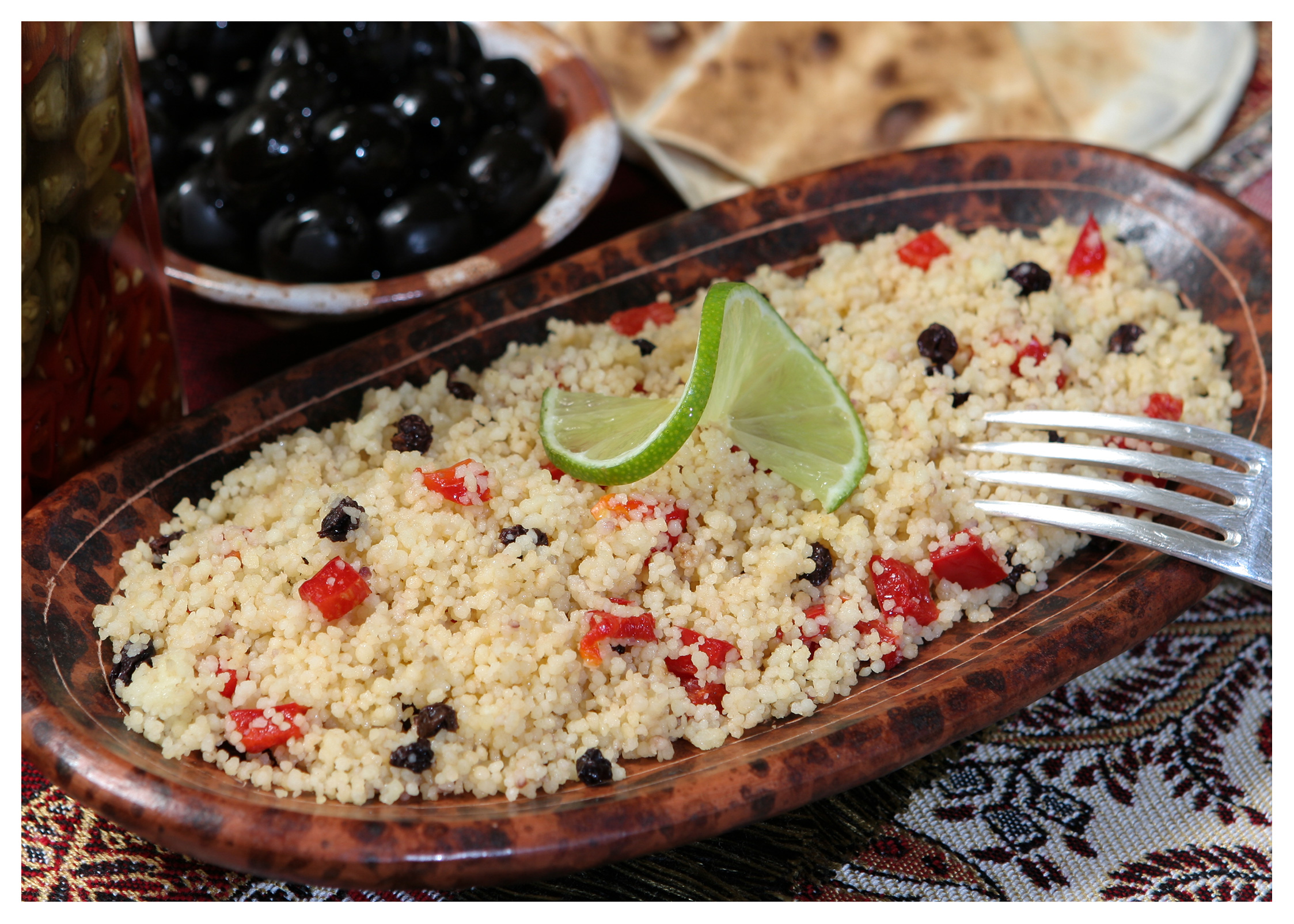 Food photography: Libyan couscous