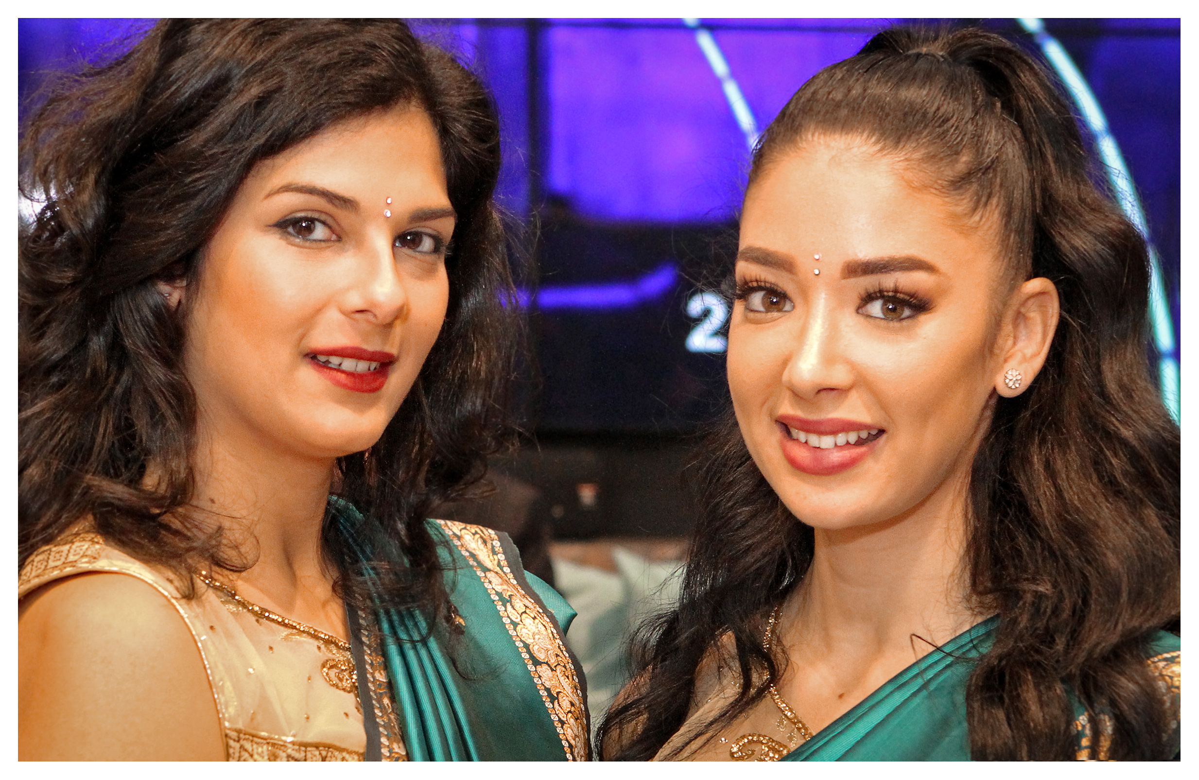 Editorial (portrait) photography: Beautiful hostesses, World Travel Market 2017, ExCel London