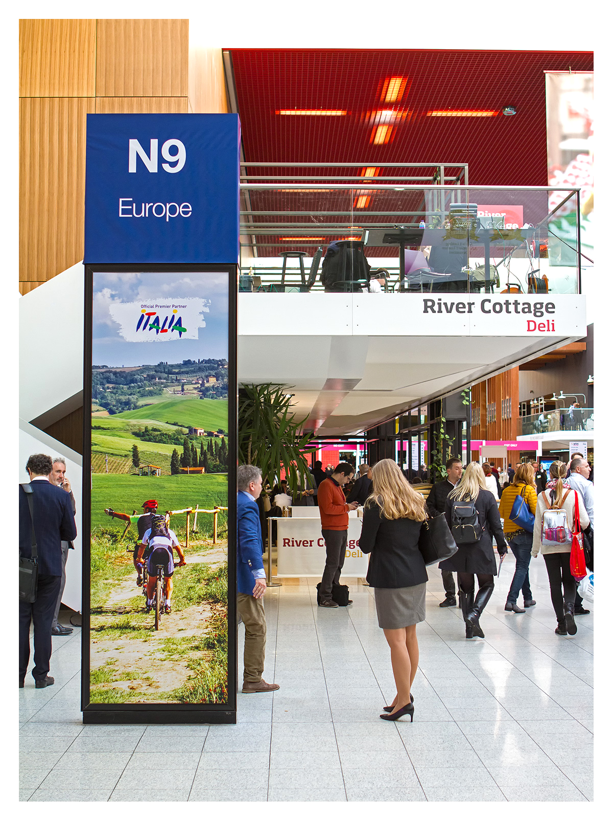 Exhibition photography: Early start, the Boulevard, World Travel Market 2017, ExCel London