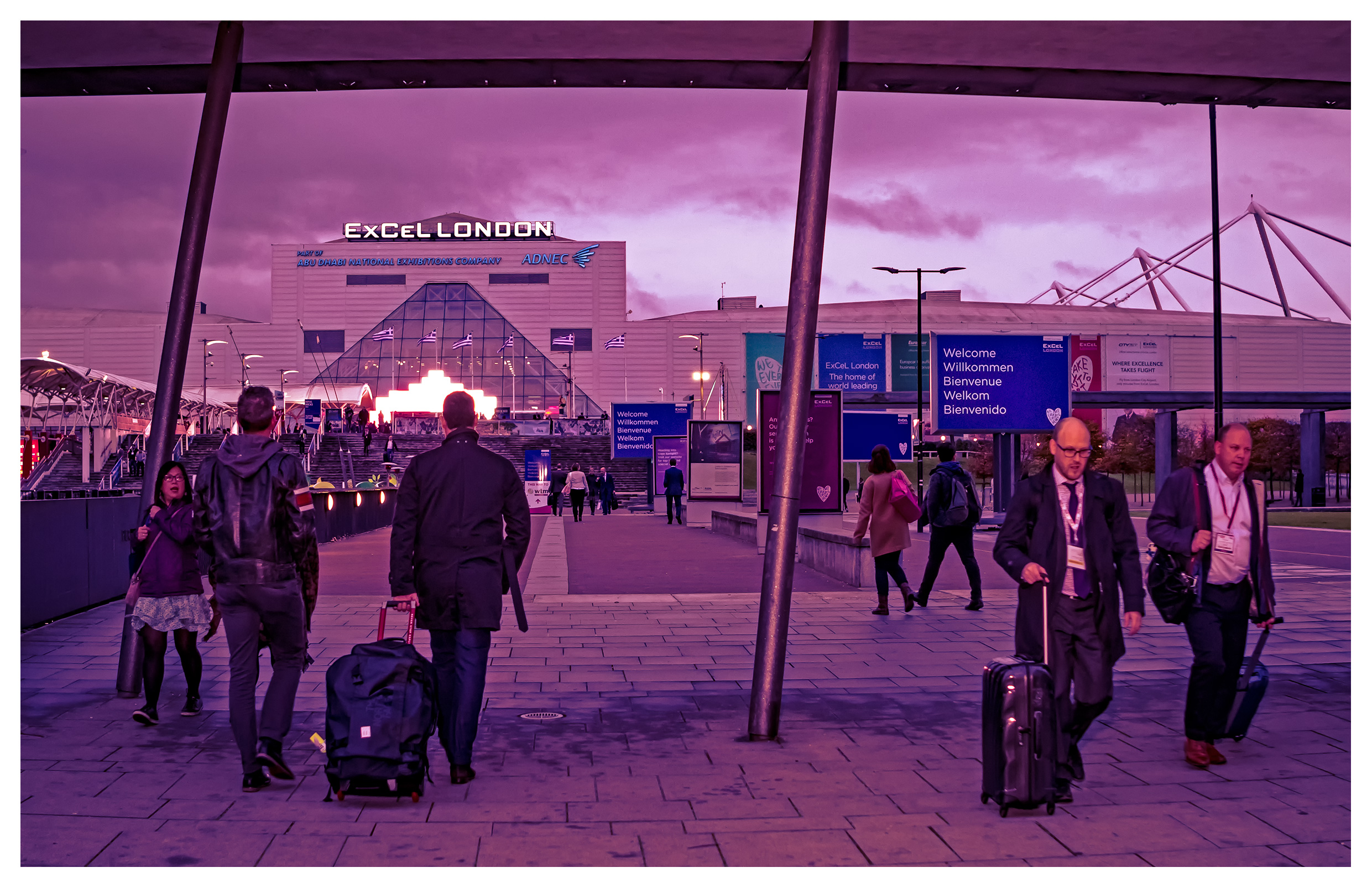 Editorial photography: Closing time, World Travel Market 2017, ExCel London