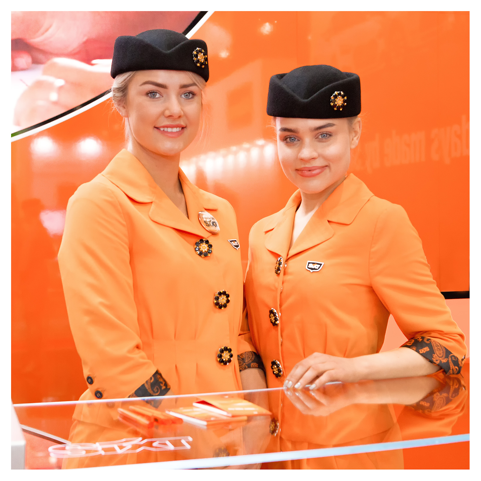 PR photography: Exhibition Hostesses for Sixt Car Hire at WTM 2018, ExCel London