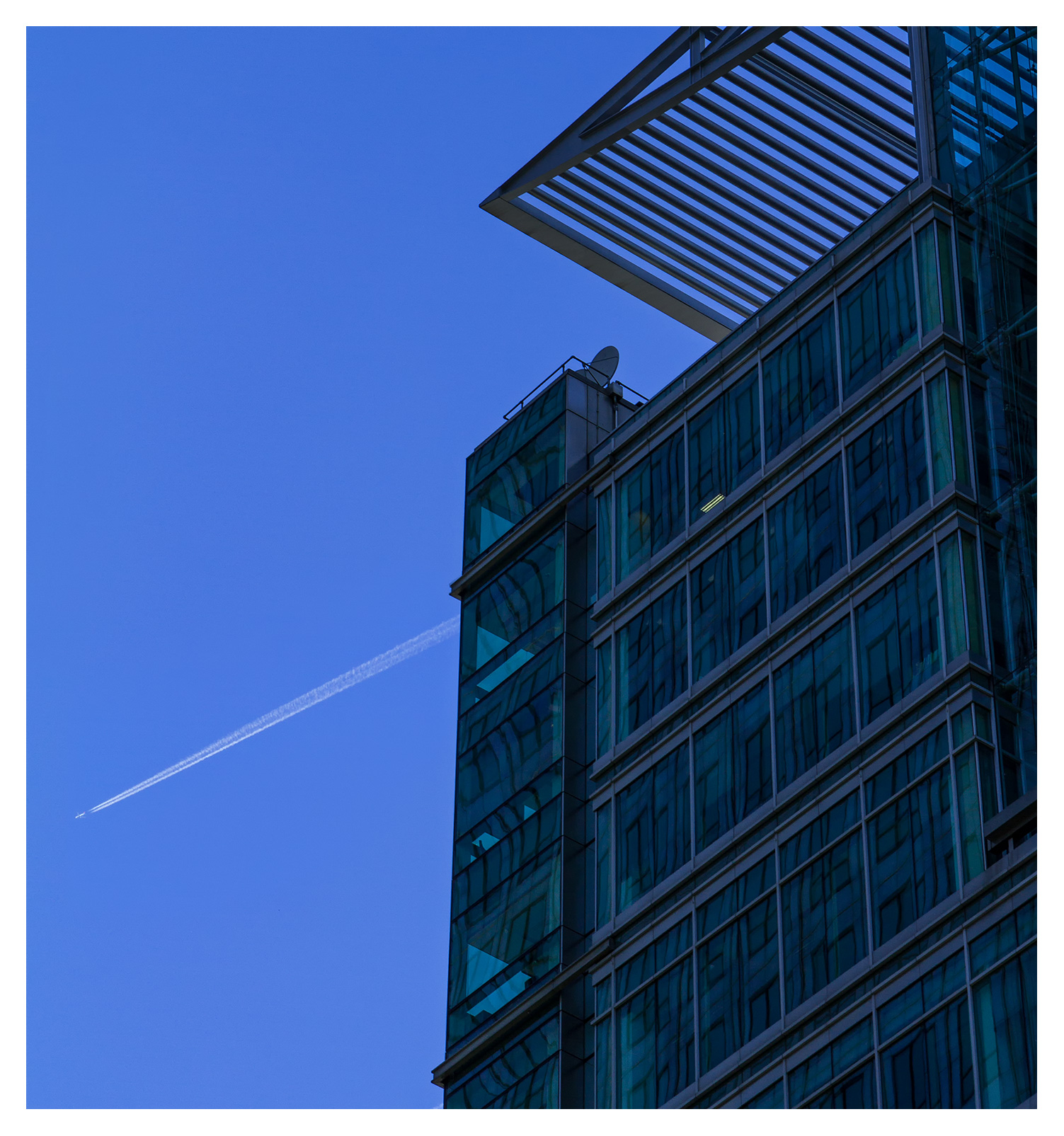 London Architecture, Bank of America, 5 Canada Square, Canary Wharf, London