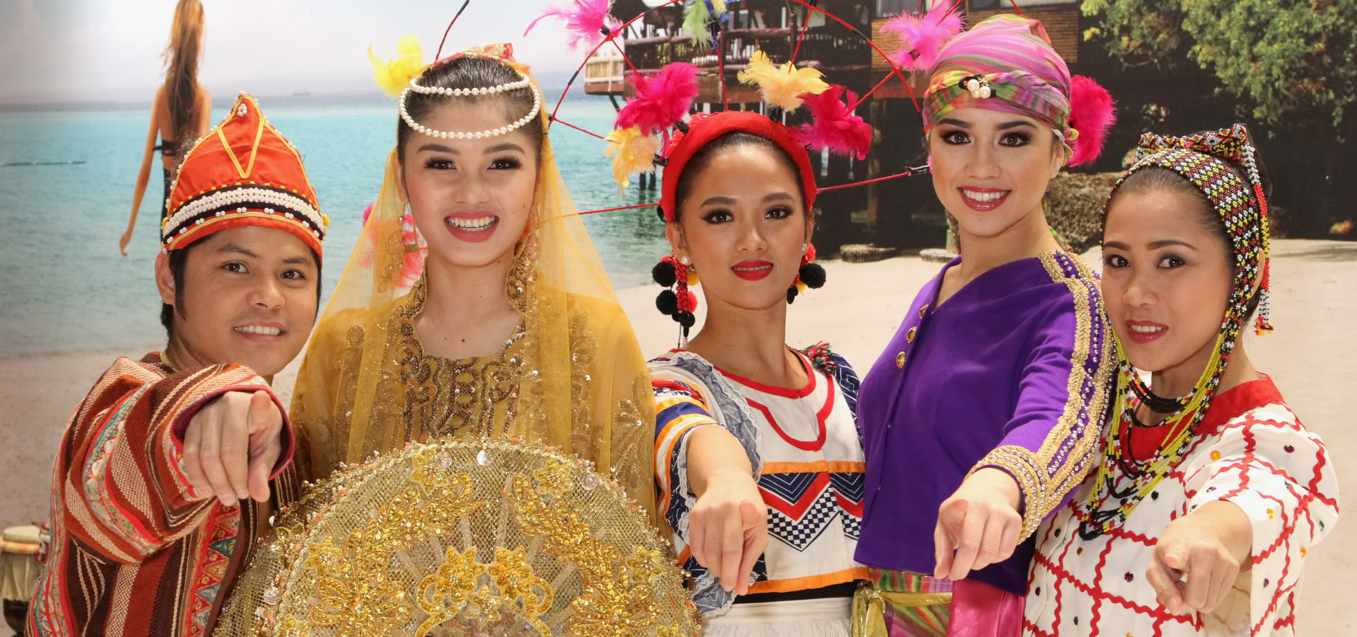 Dancers from The Philippines at WTM London